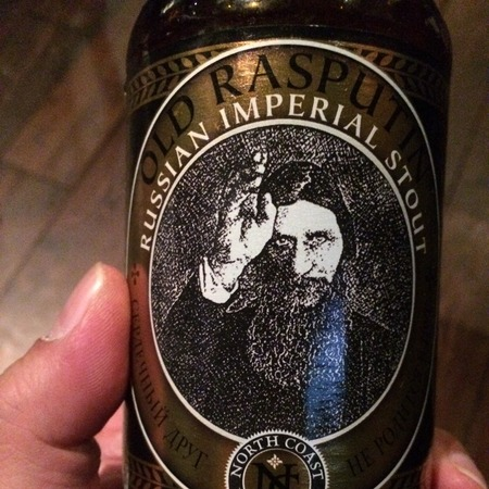 North Coast Brewing Company Old Rasputin Russian Imperial Stout NV