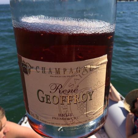 René Geoffroy Rosé De Saignée 1er Cru Brut Champagne Pinot Meunier Pinot Noir NV (1500ml)