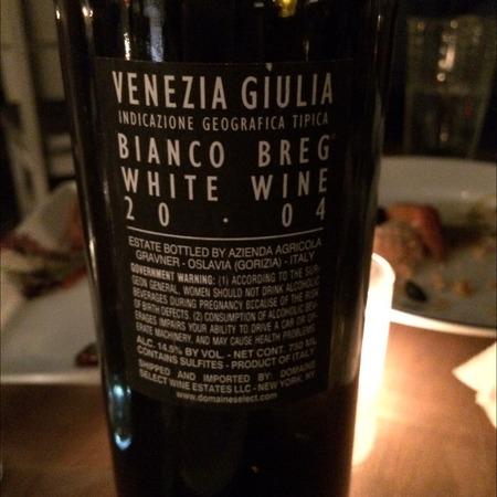 Gravner Bianco Breg Venezia Giulia White Blend 2007