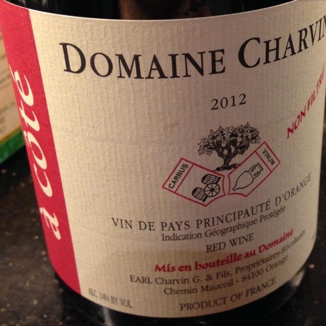 À Côté' Vin de Pays de la Principauté d'Orange Red Rhône Blend 2012
