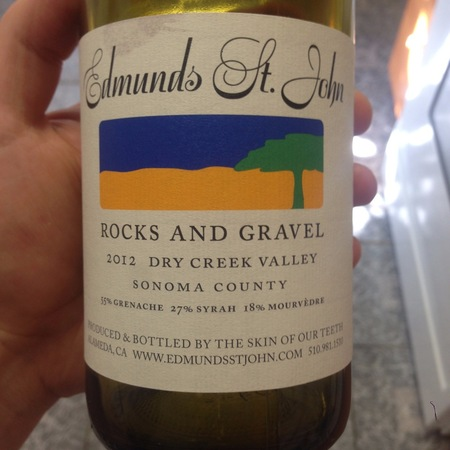 Edmunds St. John Rocks and Gravel Dry Creek Valley Grenache Blend 2014