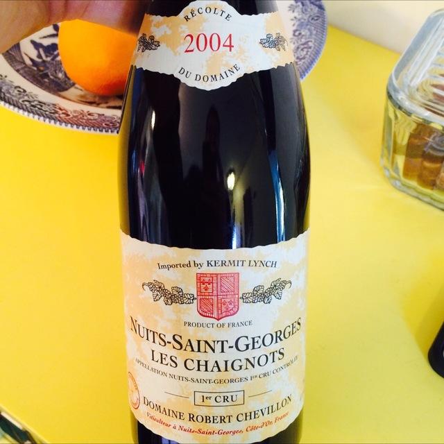 Les Chaignots Nuits-Saint-Georges 1er Cru Pinot Noir 2004