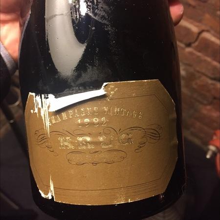 Krug Vintage Brut Champagne Blend 1995