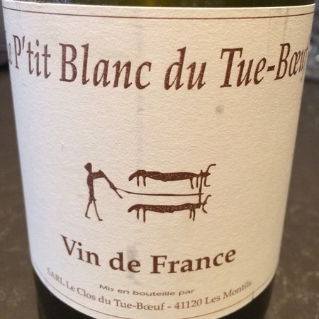 Clos du Tue-Boeuf Le P'tit Blanc du Tue-Boeuf Menu Pineau Sauvignon Blanc 2016