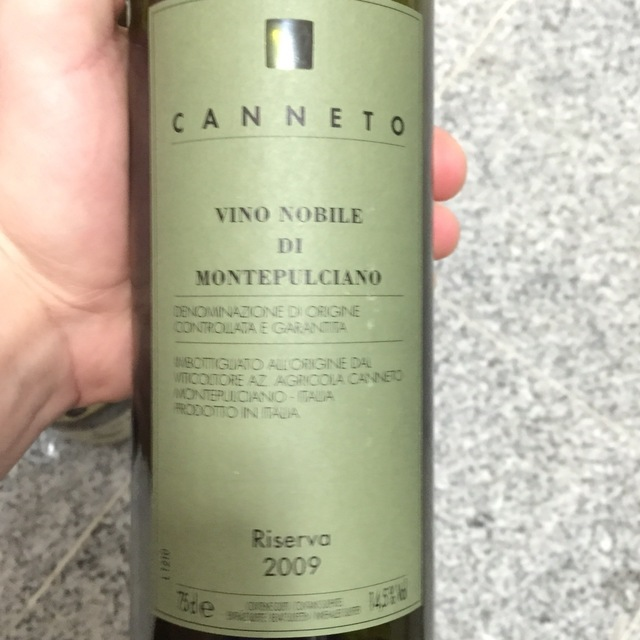 Riserva Vino Nobile di Montepulciano Sangiovese 2009