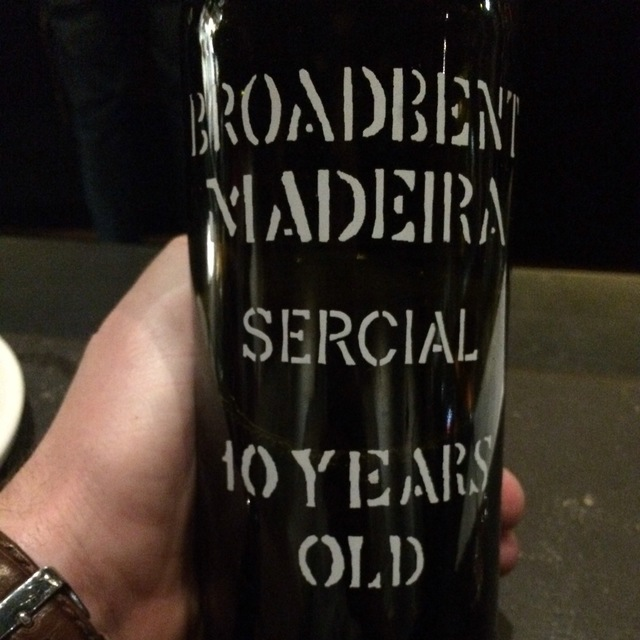 10 Years Old Madeira Sercial NV