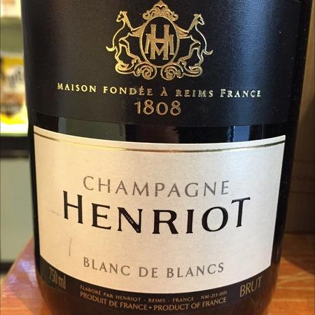Henriot Brut Blanc de Blancs Champagne Chardonnay NV