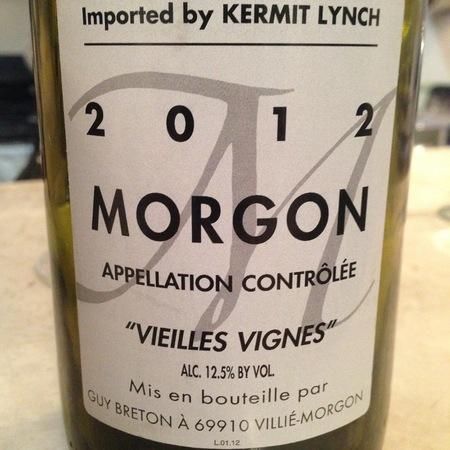 Guy Breton Vieilles Vignes Morgon Gamay 2014
