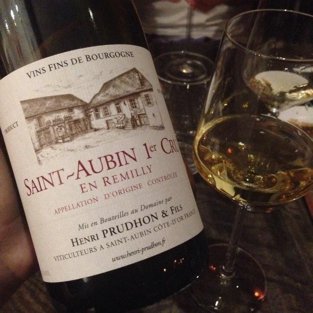 En Remilly Saint-Aubin 1er Cru Chardonnay 2011