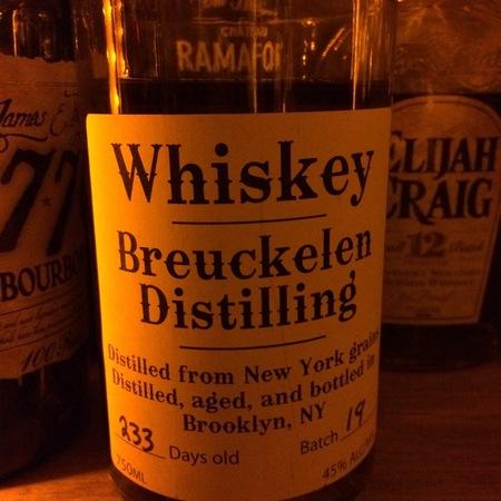 Breuckelen Distillery Whiskey NV