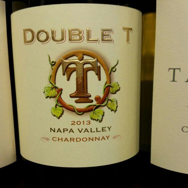 Double T Napa Valley Chardonnay 2014