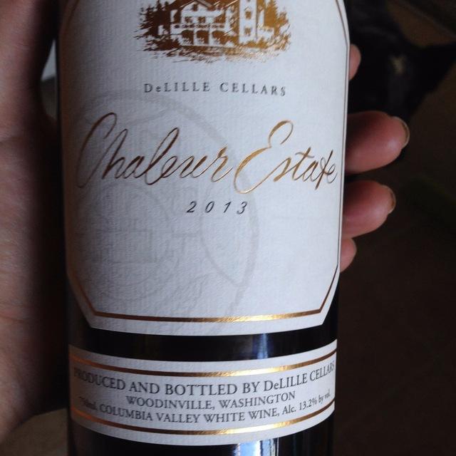 Chaleur Estate Sémillon-Sauvignon Blanc Blend 2013