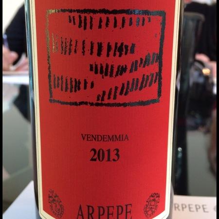 ARPEPE Rosso di Valtellina Nebbiolo 2013