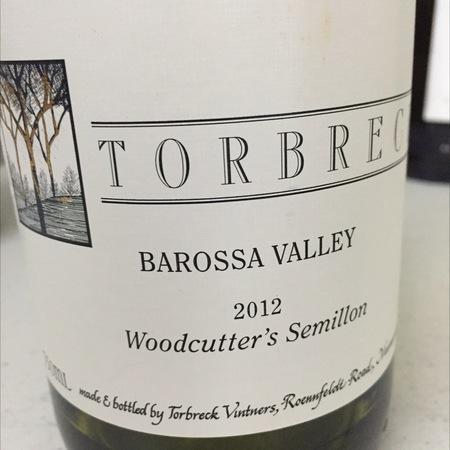 Torbreck Vintners Woodcutter's Barossa Valley Sémillon 2015