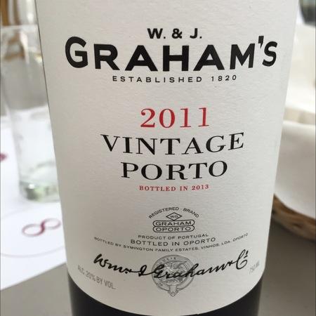 W. & J. Graham's Vintage Port Blend 2011