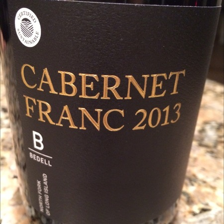 Bedell Cellars North Fork Cabernet Franc 2014