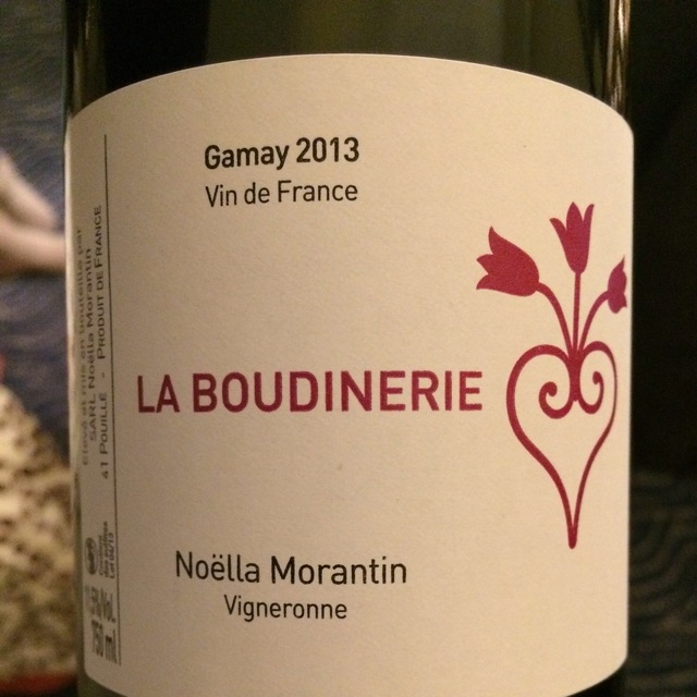 La Boudinerie Touraine Gamay 2013
