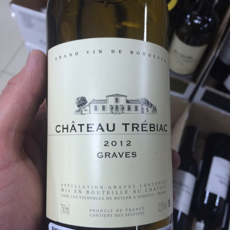 Château Trebiac Graves Red Bordeaux Blend 2012