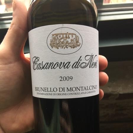 Casanova di Neri Brunello di Montalcino Sangiovese 2012