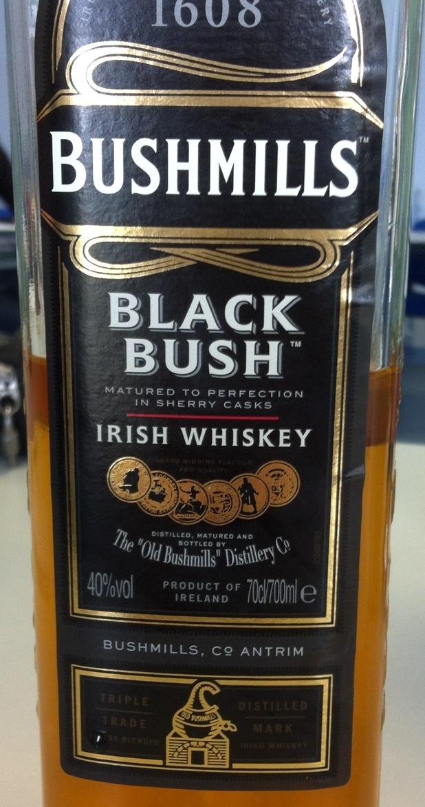 Black Bush Irish Whiskey NV