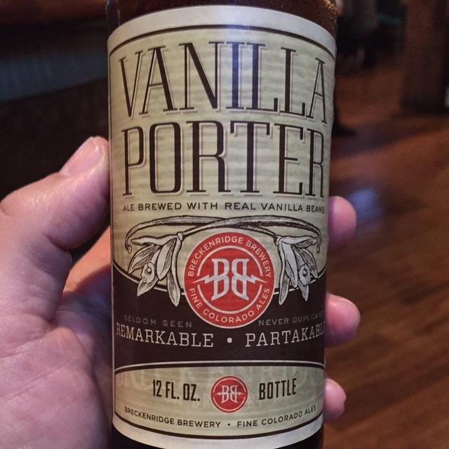 Vanilla Porter NV