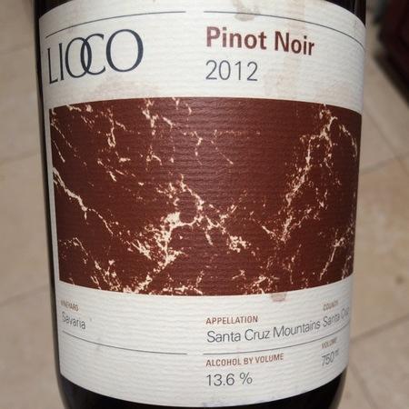 Lioco Saveria Santa Cruz Mountains Pinot Noir 2014