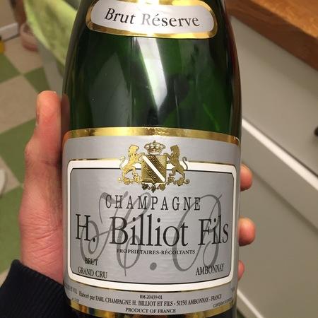 H. Billiot Fils Réserve Brut Champagne Blend NV
