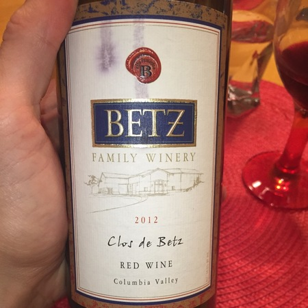 Betz Family Winery Clos de Betz Columbia Valley Red Blend 2013