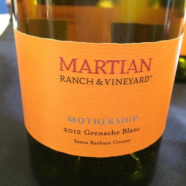 Mothership Santa Barbara County Grenache Blanc 2012