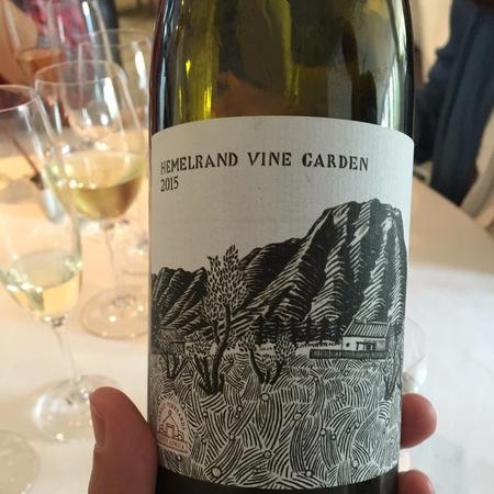 Alheit Vineyards  hemelrand Vine Garden Roussanne Blend 2015