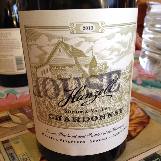 Sonoma Valley Chardonnay 2013