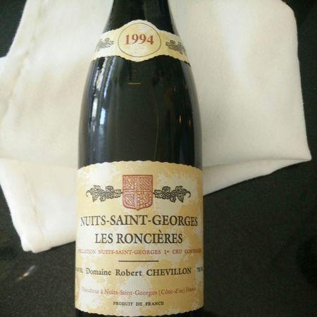 Domaine Robert Chevillon Les Roncières Nuits St. Georges 1er Cru Pinot Noir 1994