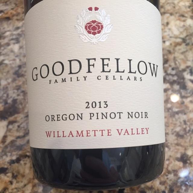Willamette Valley Pinot Noir 2012