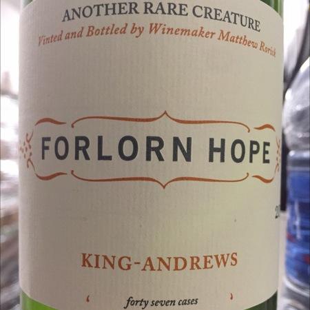 Forlorn Hope King-Andrews Chenin Blanc Blend 2014