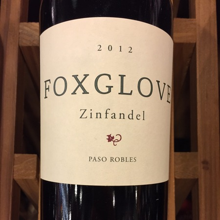 Foxglove Paso Robles Zinfandel 2014
