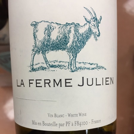 La Vieille Ferme (Perrin & Fils) La Ferme Julien Côtes du Luberon White Rhone Blend 2015