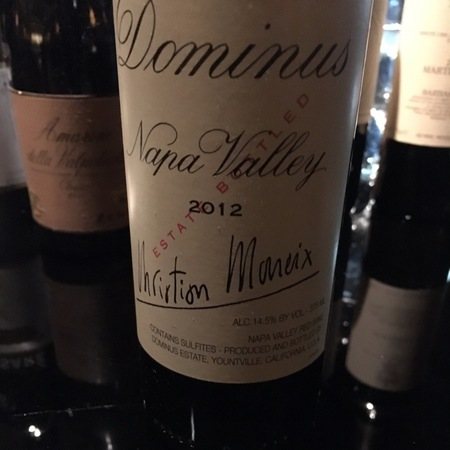 Dominus Estate Napa Valley Cabernet Sauvignon Blend 2014
