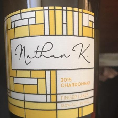 N. Kendall Nathan K. Finger Lakes Chardonnay  2015
