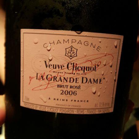 Veuve Clicquot Ponsardin La Grande Dame Brut Rosé Champagne Blend 2006