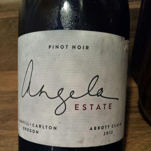 Abbott Claim Pinot Noir 2012