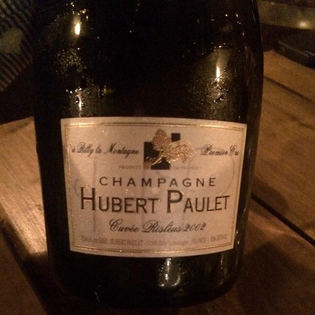 Cuvee Risleus Brut Champagne 2002
