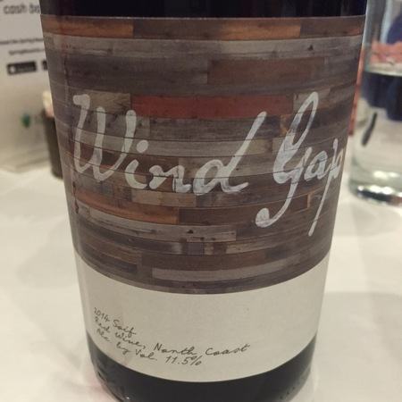 Wind Gap Wines Soif North Coast Valdiguie Blend 2015