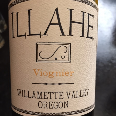Illahe Willamette Valley Viognier 2015