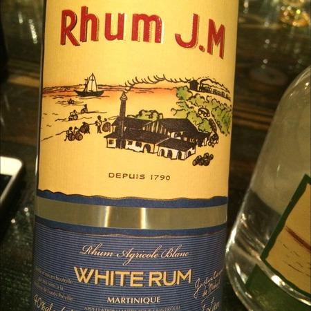 Les Héritiers Crassous de Médeuil Rhum J.M White Rum NV