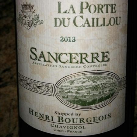 Henri Bourgeois La Porte du Caillou Sancerre Sauvignon Blanc 2016