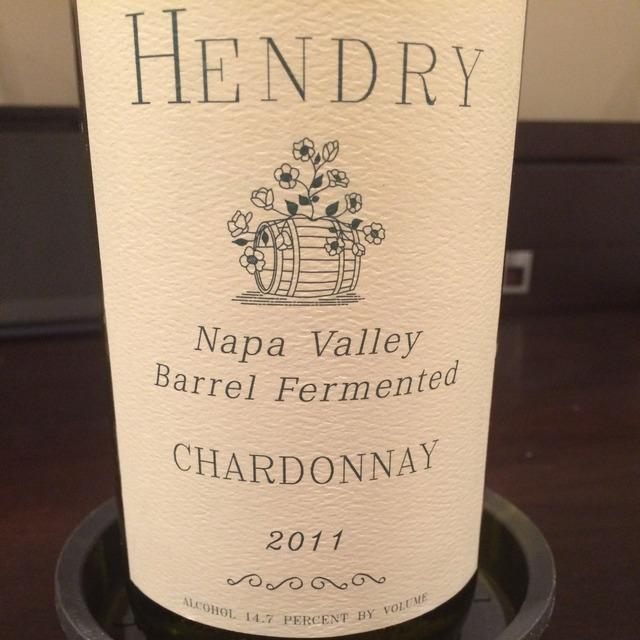 Barrel Fermented Napa Valley Chardonnay 2011
