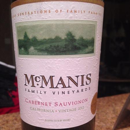 McManis Family Vineyards California Cabernet Sauvignon 2016