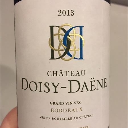 Château Doisy-Daëne Bordeaux Sec Sémillon-Sauvignon Blanc Blend 2016