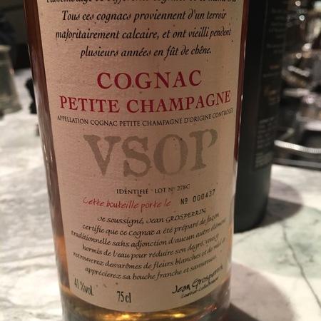 Jean Grosperrin Petite Champagne V.S.O.P. Cognac NV