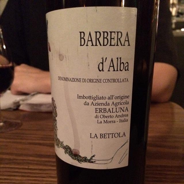 La Bettola Barbera d'Alba 2013